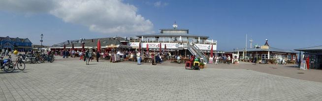 Bild: Am Hafen von List auf Sylt