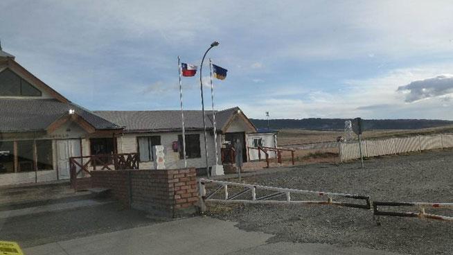 Bild: Chilenischer Grenzposten