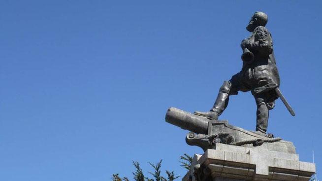 Bild: Statue Fernando Magellan