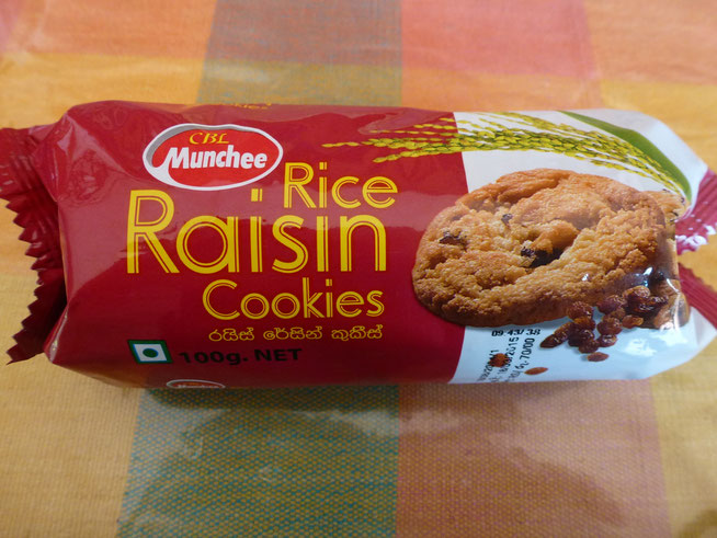 Bild: Rice Raisin Cookies