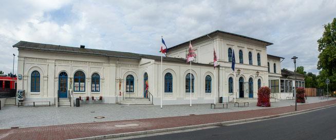 Bild: Bahnhof von Eutin