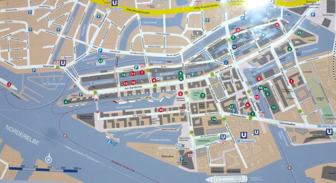 Bild: Hafen-City-Plan