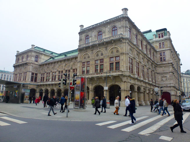 Bild: Staatsoper am Karajan-Platz in Wien