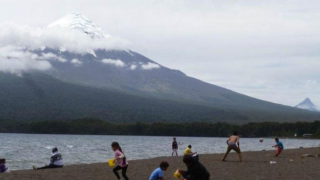 Bild: Vulkankegel des Osorno
