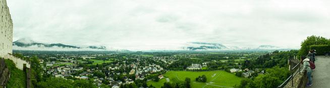 Bild: Panorama von der Festung Hohensalzburg
