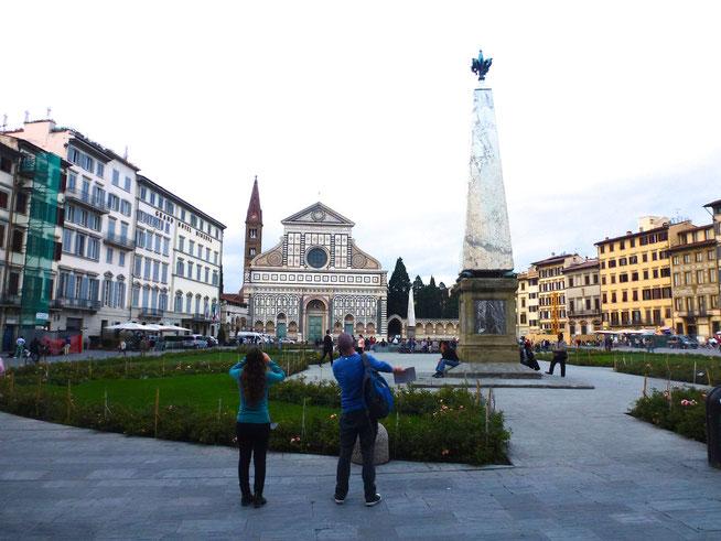 Bild: Piazza di Santa Maria Novella