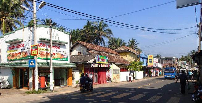 Bild: Ahangama in Sri Lanka