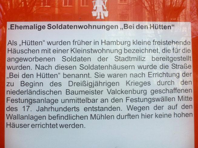 """Bild: Ehemalige Soldatenwohnungen """"Bei den Hütten"""""""
