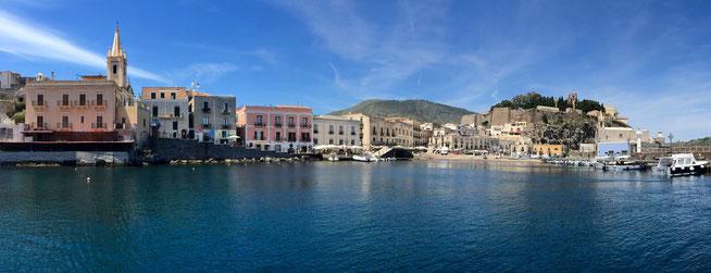Bild: Hafenstadt Liparia