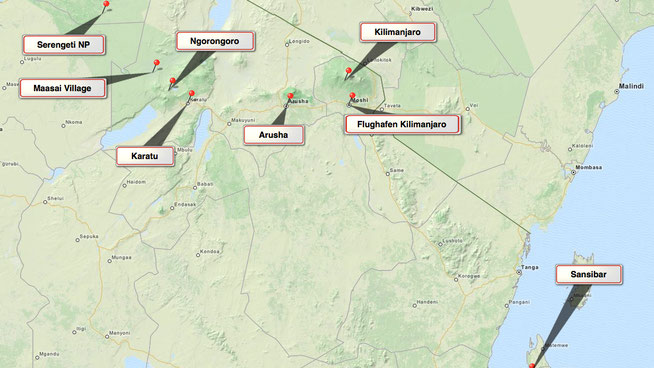 Bild: Tansania Safari und Sansibar