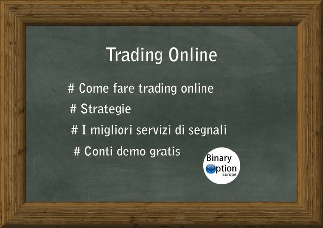 Strategie per opzioni binarie, Segnali per opzioni, come fare trading con le opzioni binarie