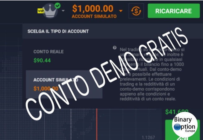 iq option demo gratis ricaricabile 2016