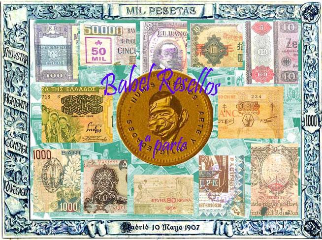Babel un paseo por los resellos del billetario mundial 1ª parte