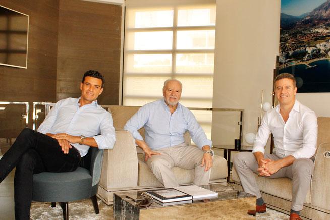 Carlos Rodríguez, Pedro Rodríguez y Luis Rodríguez
