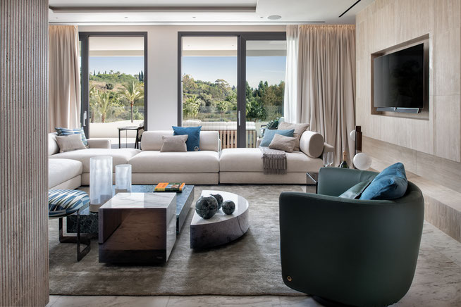 EPIC Marbella furnished by FENDI Casa
