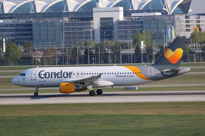 "A 320-232  "" D-AICL "" Condor -3"