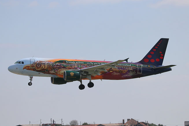 "A 320-214  "" OO-SNF "" Brussels Airlines -1"