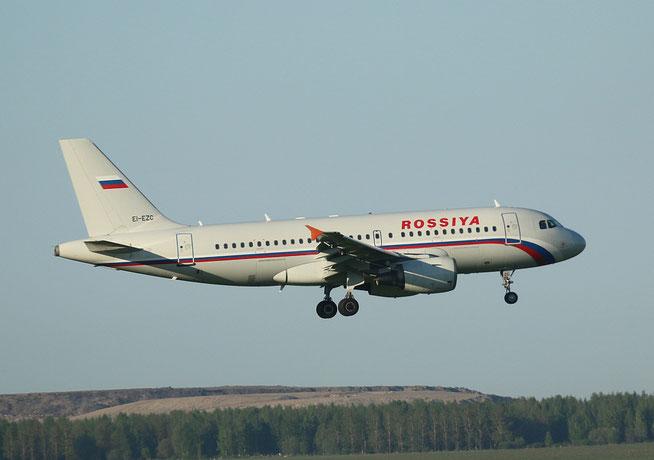 """A 319-112  """" EI-EZC """"  Rossiya -2"""