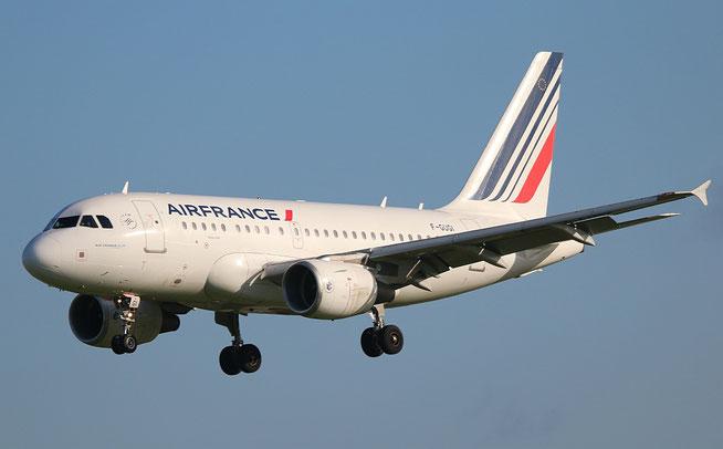 """A 318-111 """" F-GUGI """"  Air France -1"""