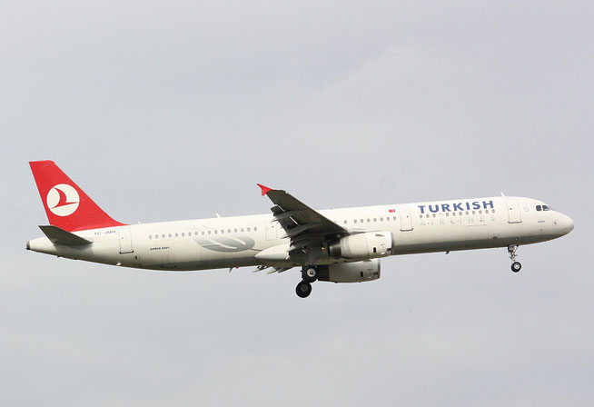 "A 321-231 "" TC-JMH ""  Turkish Airlines -1"