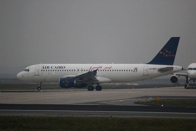 """A 320-214 """" SU-BPX """" Air Cairo -1"""