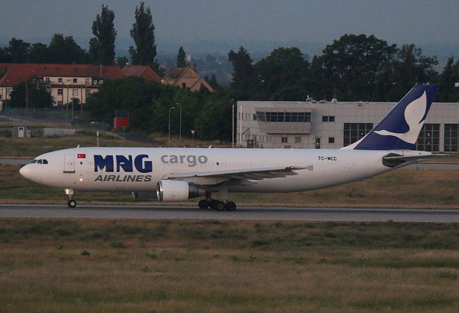 "A 300B4-622R/F  "" TC-MCC "" MNG Airlines -2"