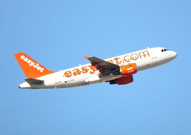 """A 319-111 """" G-EZAD """" easy Jet -1"""
