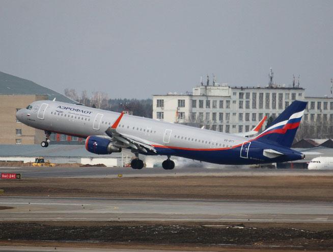 """A 321-211/W  """" VQ-BTT """"  Aeroflot -1"""