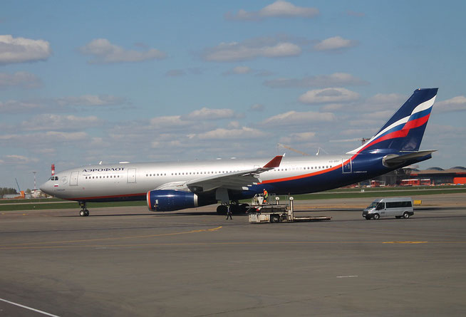 "A 330-343  "" VQ-BBF ""  Aeroflot -1"