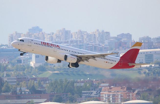 """A 321-212 """" EC-JZM """"  Iberia -1"""