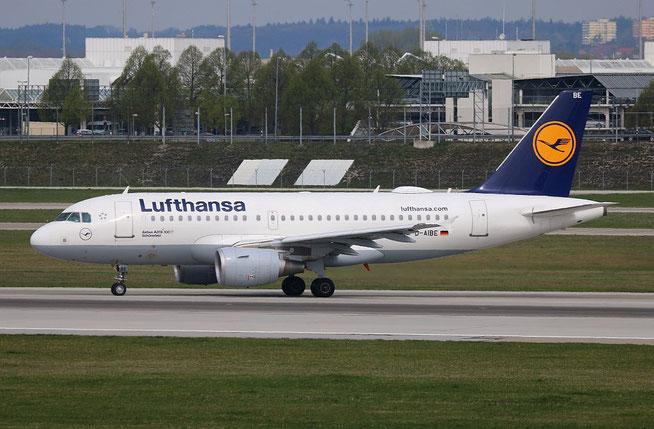 """A 319-112 """" D-AIBE """" Lufthansa -3"""