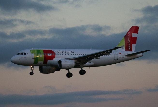 """A 319-111 """" CS-TTG """"  TAP Air Portugal -4"""