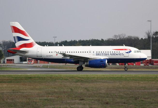 """A 319-131  """" G-EUPY """"  British Airways -4"""