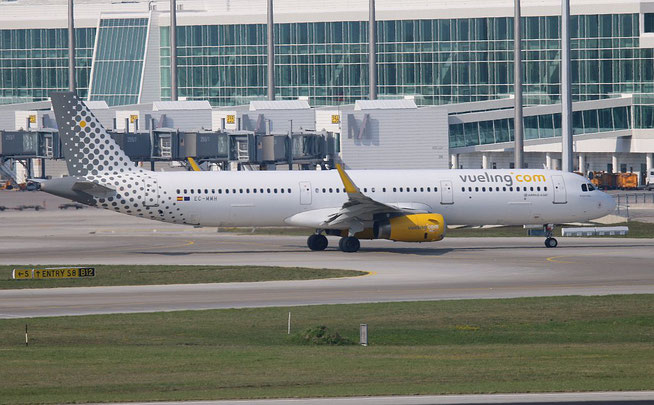 """A321-231 (W) """" EC-MMH """"  Vueling Airlines -1"""