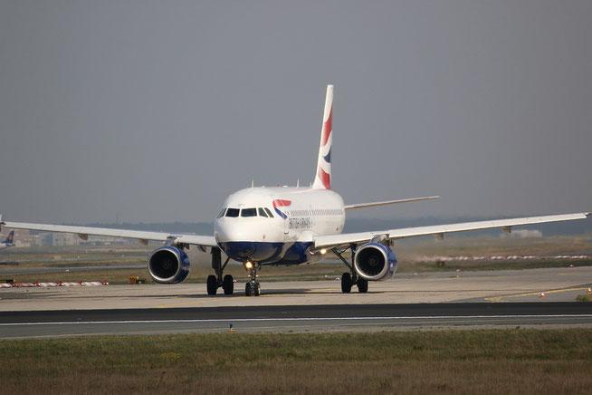 """A 319-131  """" G-EUPY """"  British Airways -3"""