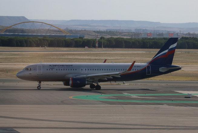 """A 320-214/WL  """" VP-BFG """"  Aeroflot -1"""