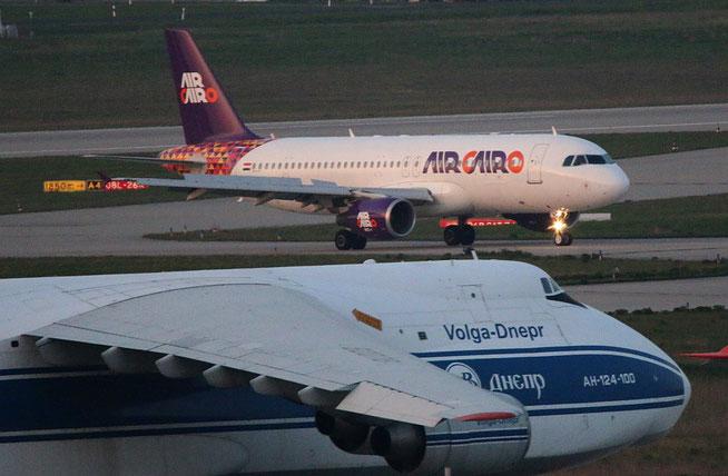 """A 320-214 """" SU-BTM """" Air Cairo -2"""