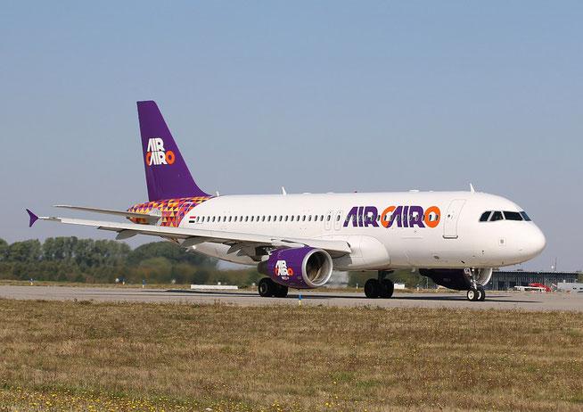 """A 320-214 """" SU-BTM """" Air Cairo -3"""