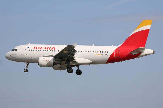 """A 319-111 """" EC-JXJ """"  Iberia -2"""