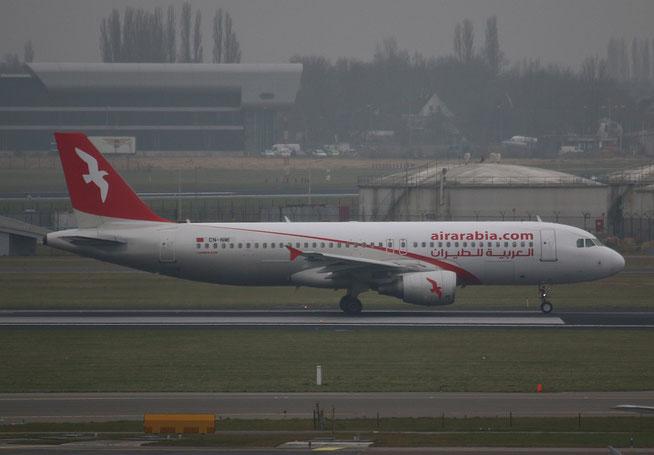 """A 320-214  """" CN-NMI """"  Air Arabia Maroc -1"""