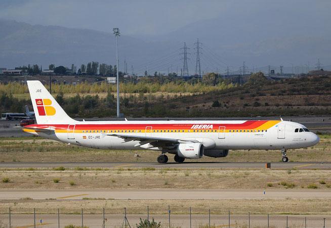 """A 321-211 """" EC-JRE """"  Iberia -3"""