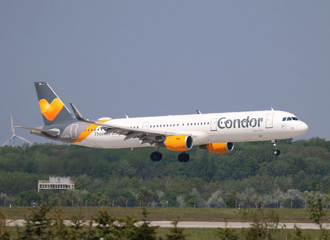 """A 321-211  """" D-ATCB """"  Condor -1"""