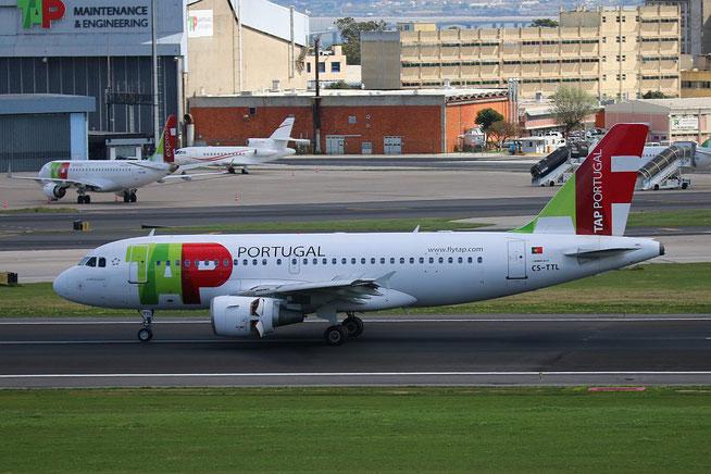 """A 319-111 """" CS-TTL """"  TAP Air Portugal -3"""
