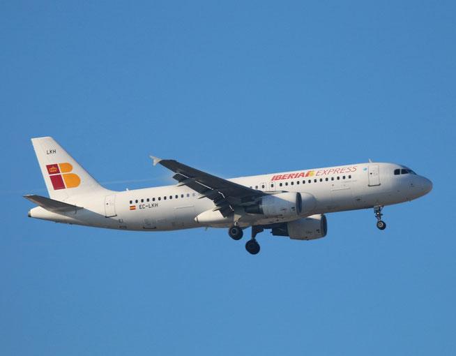 """A 320-214  """" EC-LKH """"  Iberia Express -2"""