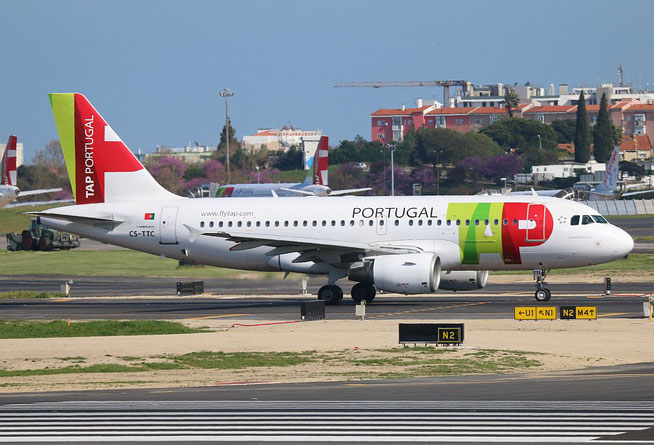 "A 319-111 "" CS-TTC ""  TAP Air Portugal -1"