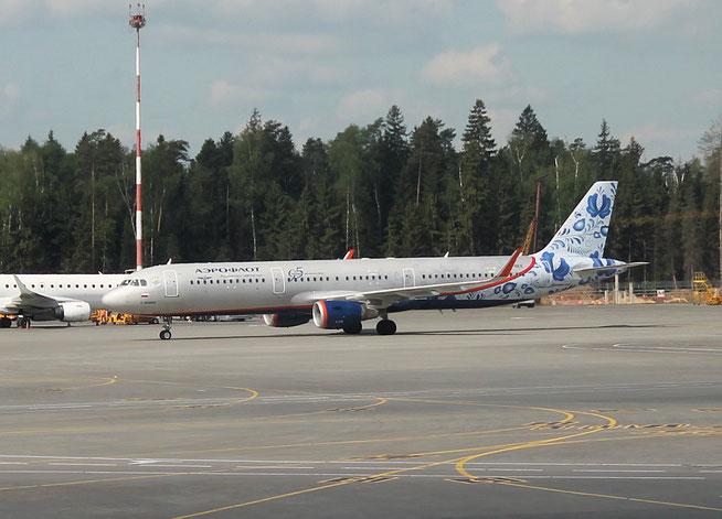 """A 321-211/W  """" VP-BEE """" Aeroflot -1"""