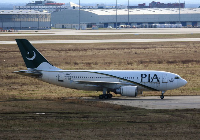 "A 310-308  "" AP-BEQ "" Pakistan International Airlines -2"