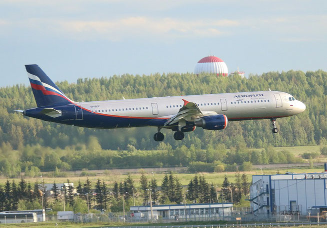"""A 321-211  """" VP-BDC """" Aeroflot -1"""