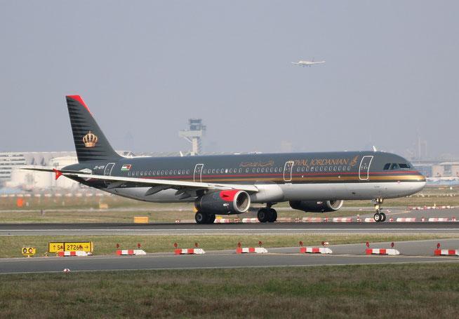 """A 321-231 """" JY-AYV """"  Royal Jordanian -1"""