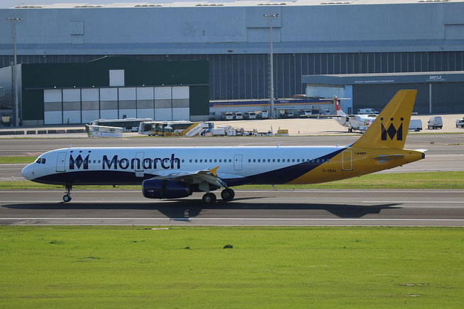"A 321-231  "" G-ZBAL ""   Monarch Airlines -1"